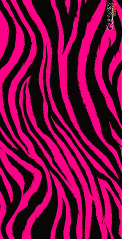 1008 Toalla tiger pink