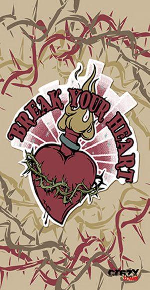 1017 Toalla tattoo break your heart