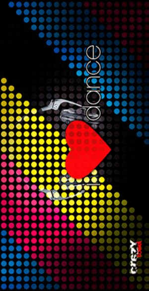 1044 Toalla i love dance