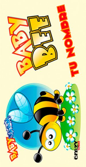 1053 Toalla Baby Bee