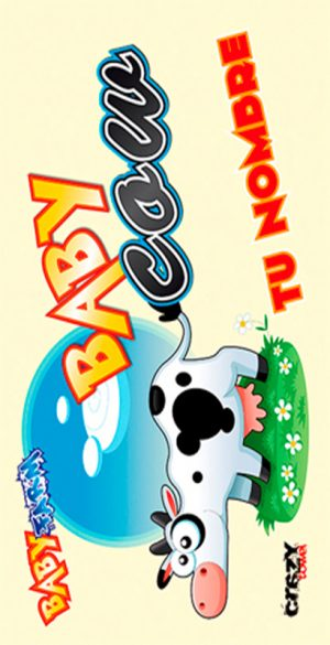 1054 Toalla Baby Cow