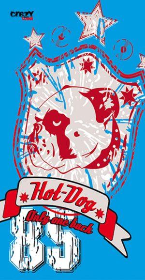 1073 Toalla hot dog
