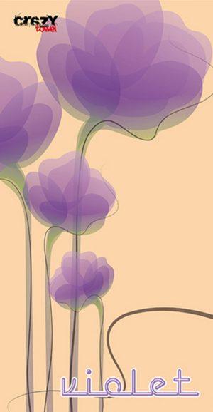 1076 Toalla violet