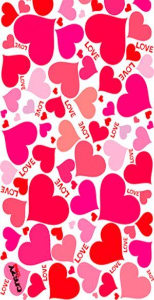 1100 Toalla love pink