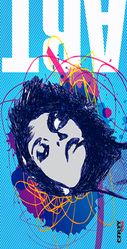 1105 Toalla woman art