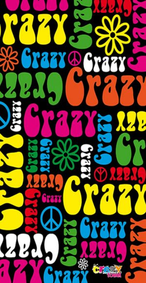 1112 Toalla crazy hippie