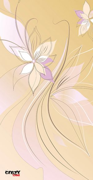 1116 Toalla flor de vainilla