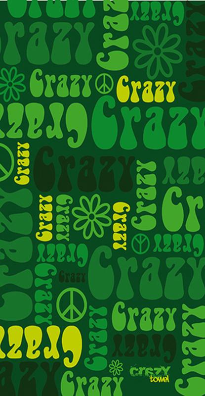1198 Toalla crazy hippie verde