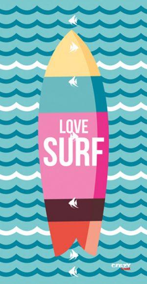 1271 Love Surf Blue