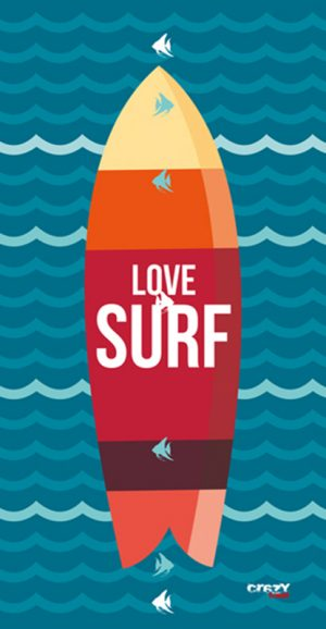 1272 Love Surf Navy