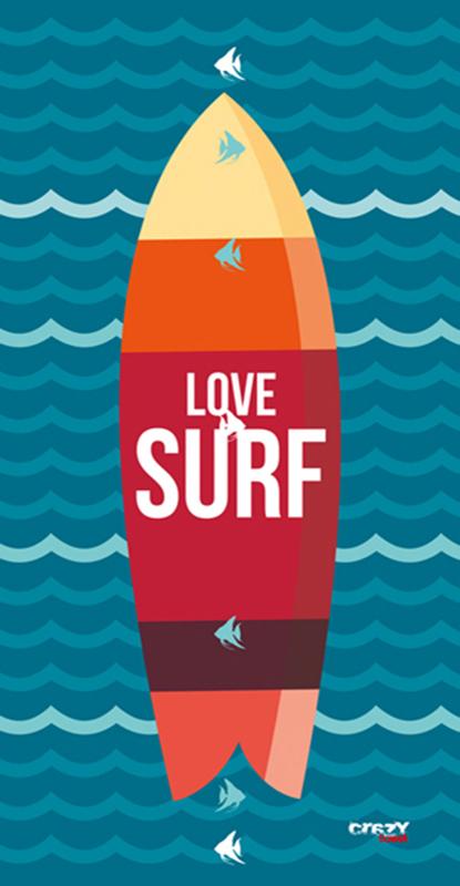 1272 Love Surf Navy