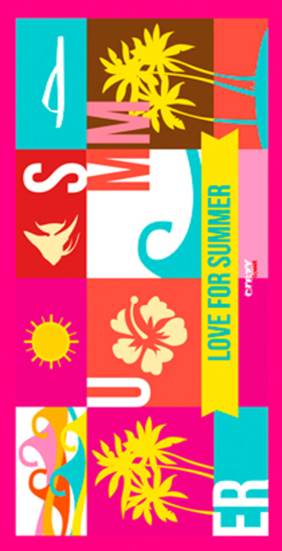 1283 Love For Summer Fuxia