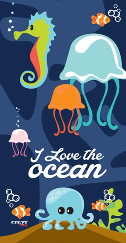 1302 I Love The Ocean Navy