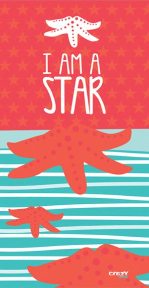 1306 I am a Star orange
