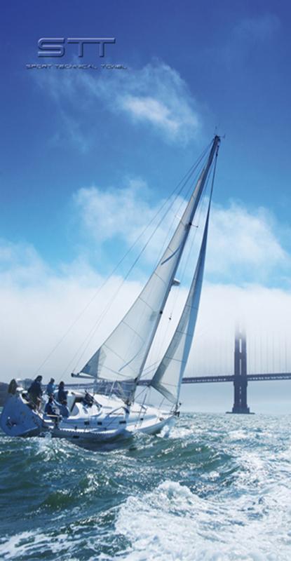 607 Toalla Nautica Velero