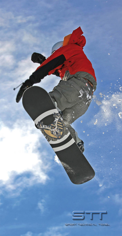 618 Toalla Enjoy Snow
