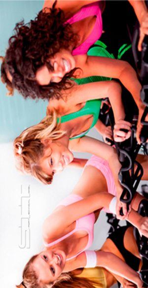 628 Toalla spinning chicas