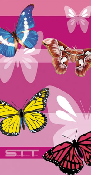 652 Toalla pop mariposas