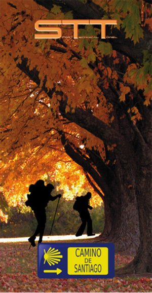 675 Toalla camino de santiago en otoño