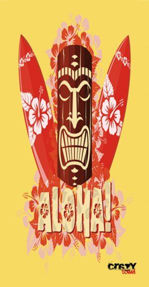 689 Toalla surf aloha