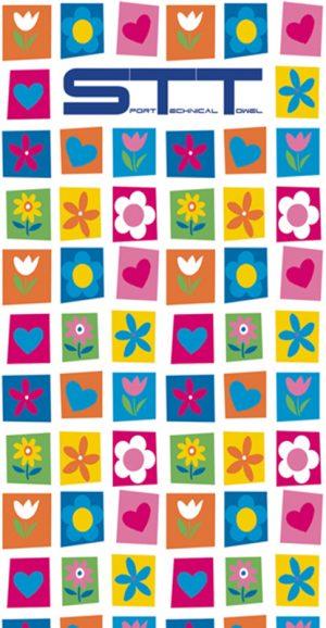 659 Toalla Flores Collage