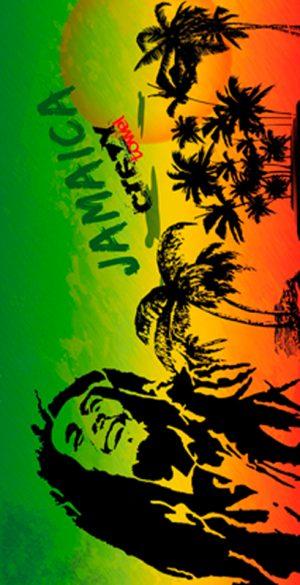 724 Toalla Rasta Marley Jamaica
