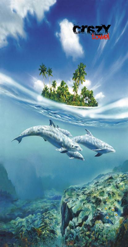 839 Toalla dolphyn