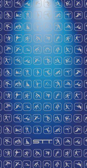 852 Toalla multideporte azul