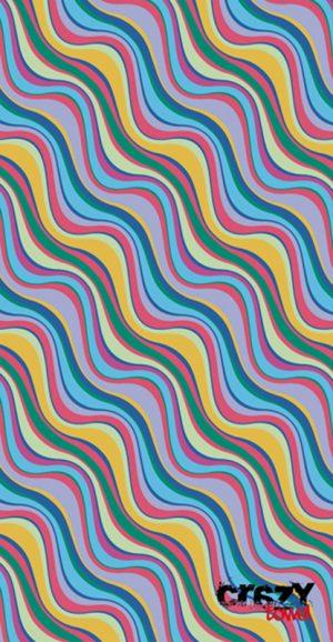 856 Toalla weavy pastel