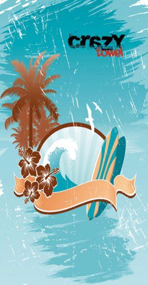 871 Toalla life surfer