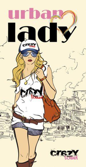 884 Toalla urban lady