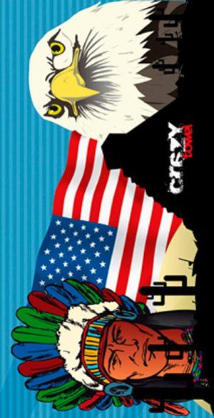 887 Toalla american symbol