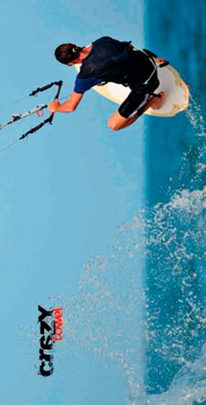 900 Toalla kite fly