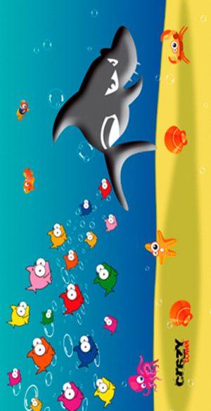 908 Toalla Tiburon Comic