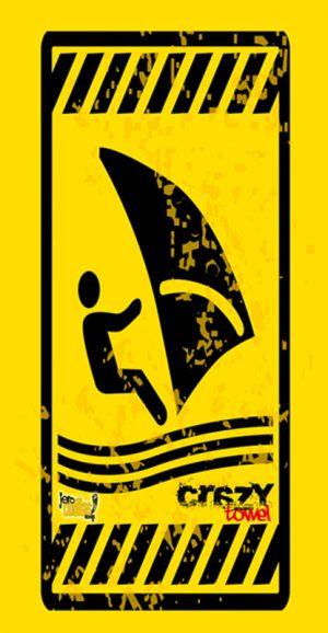 911 Toalla peligro surf