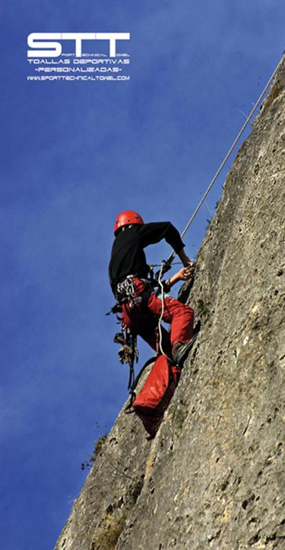 918 Toalla escalador
