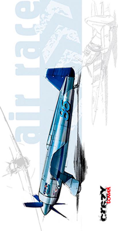 922 Toalla blue air race