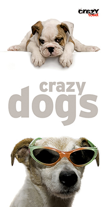 929 Toalla Crazy Dogs