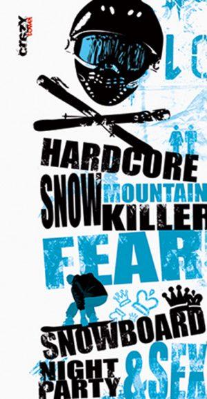 934 Toalla Hardcore Snow