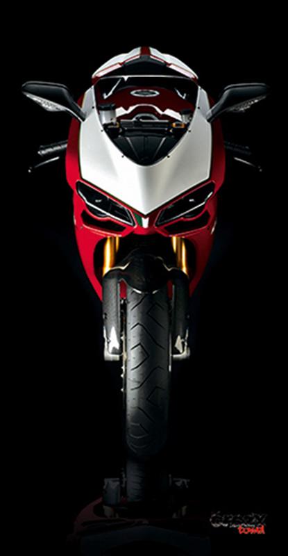 936 Toalla Italian Bike