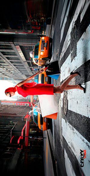 937 Toalla la dama de rojo