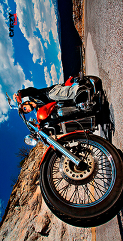 940 Toalla motorbike