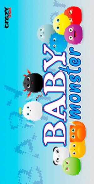 949 Toalla baby monster
