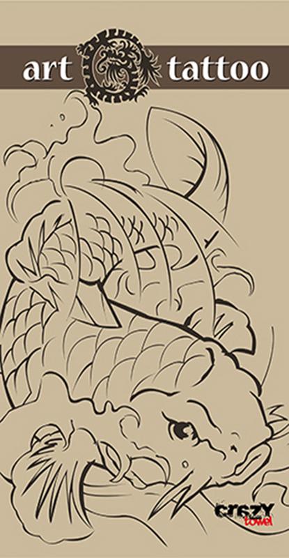 954 Toalla art tattoo