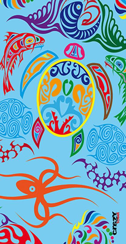 963 Toalla fish tattoo
