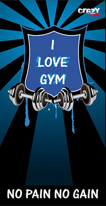 968 Toalla gym