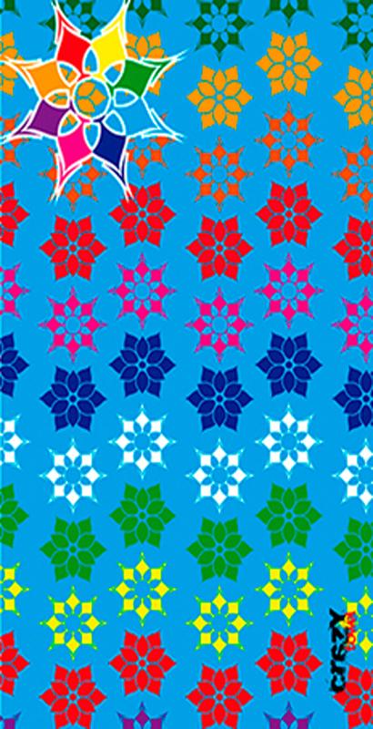 971 Toalla happy snow color