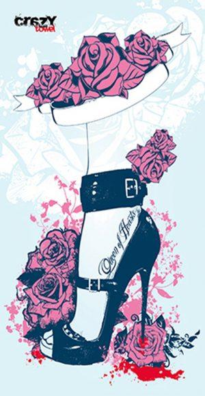 982 Toalla queen of hearts