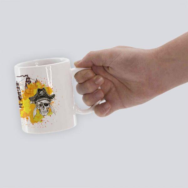 TAZA PIRATAS HAND