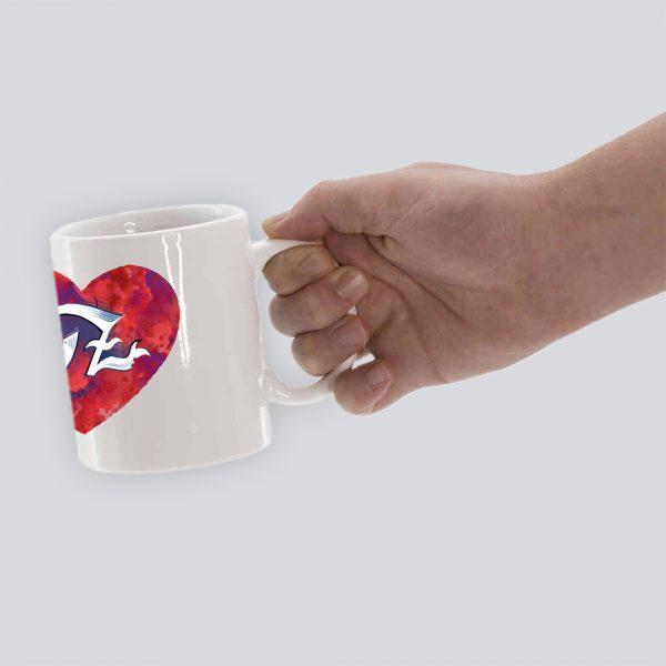 TAZA ZINGAROS 1 CORAZON HAND